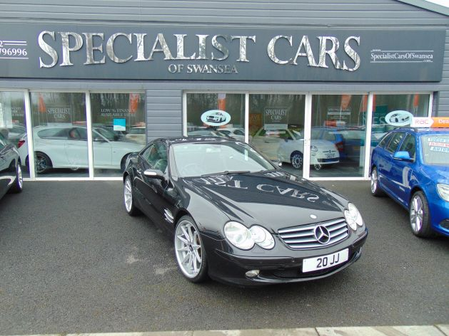 Used MERCEDES SL in Swansea, Wales for sale