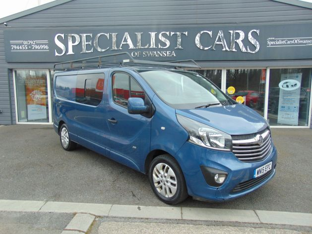 Used VAUXHALL VIVARO in Swansea, Wales for sale