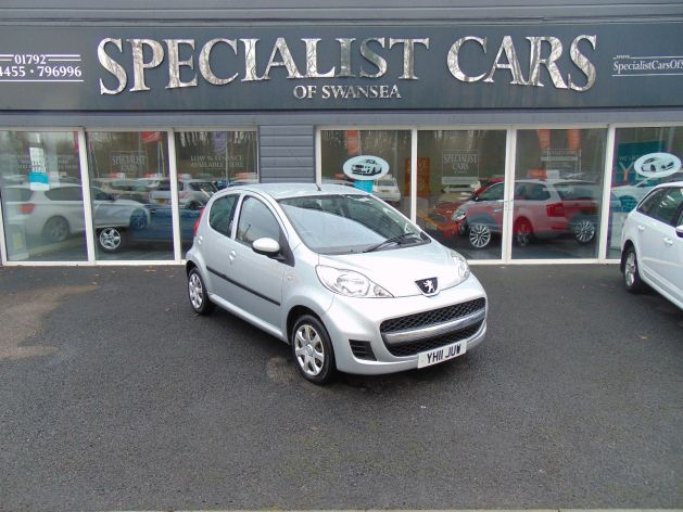 Used PEUGEOT 107 in Swansea, Wales for sale
