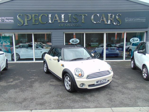 Used MINI CONVERTIBLE in Swansea, Wales for sale