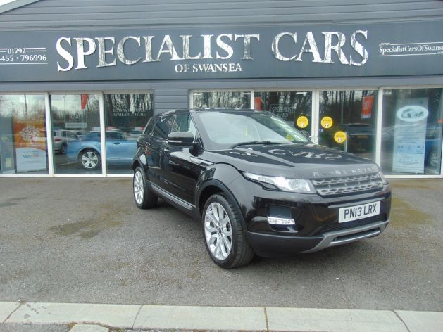 Used LAND ROVER RANGE ROVER EVOQUE in Swansea, Wales for sale