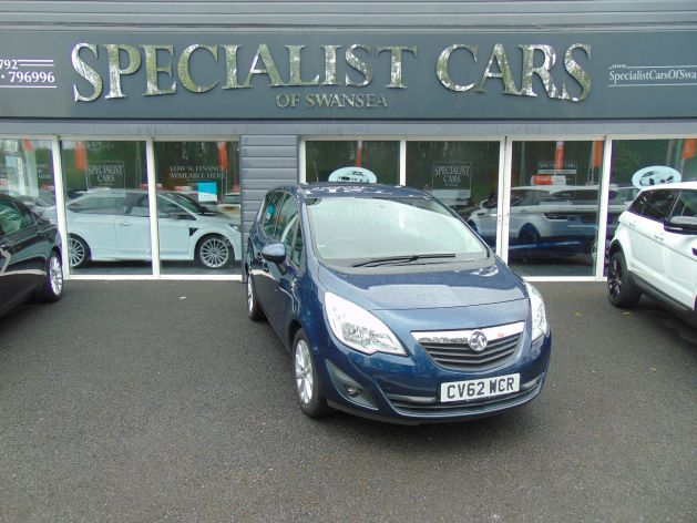 Used VAUXHALL MERIVA in Swansea, Wales for sale