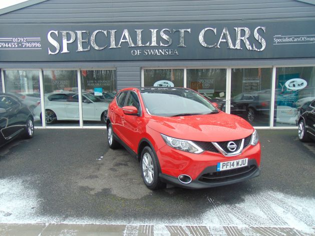 Used NISSAN QASHQAI in Swansea, Wales for sale