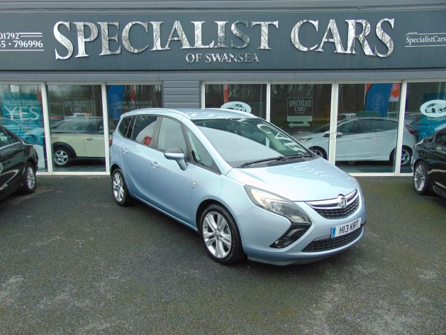 Used VAUXHALL ZAFIRA TOURER in Swansea, Wales for sale